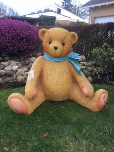 Cherished Teddies Theodor sitting life size statue - The Netherlands