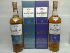 2 bottles - Macallan Fine Oak 15 years old & 18 years old.