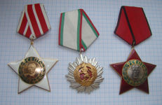 Three Bulgarian high orders