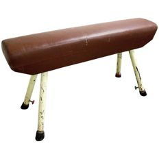 Vintage Pommel Horse or gym bench