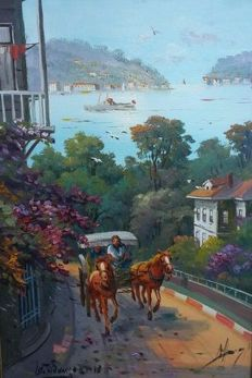Unknown (20/21 century) - Istanbul Constantinople,  Prinkipo Island