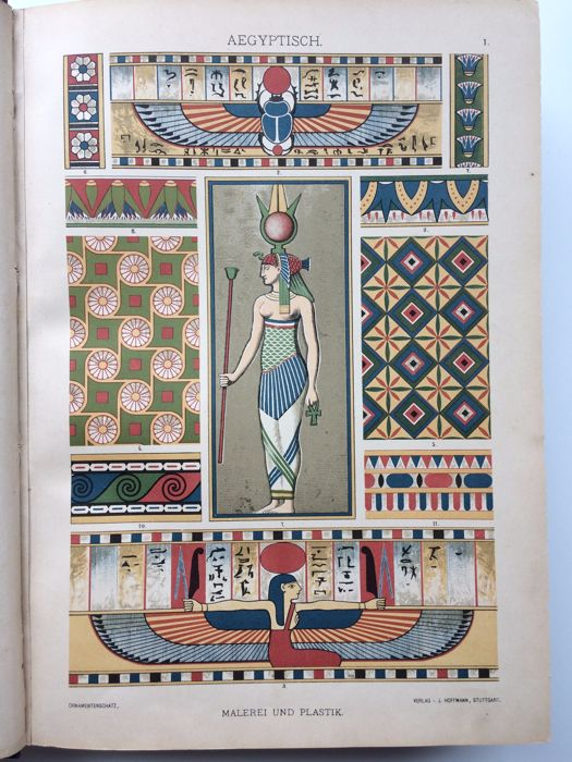 H. Dolmetsch - Der Ornamentenschatz. 2nd edition - 1889