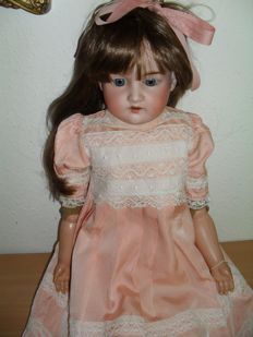 Armand Marseille, Germany - 74 cm length - antique doll AM 8 370 DEP, 1st half of 20th century