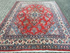 Persian SAROUGH - with certificate of authenticity - approx. 350 x 259 cm - Condition: VERY GOOD!