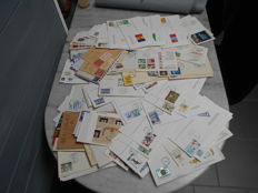 World - Set of envelopes, express/registered/whole and FDC.
