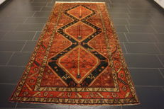Old high quality - Persian carpet - Hamadan - Made in Iran - 150 x 310 - Cleaned in very good condition