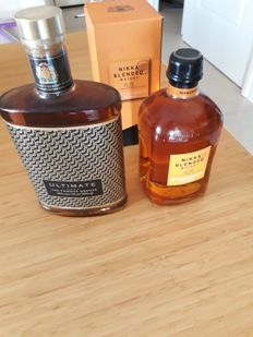 2 bottles - Famous Grouse Ultimate & Nikka Blended