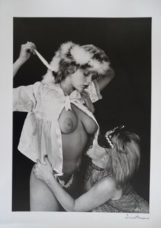 Photo; Lot with 3 photos by Irina Ionesco – 1981