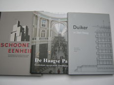 The Hague - Lot of 3 Books about The Hague Architecture - 1999-2011