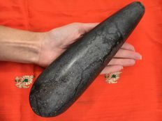 Old bride price celt stone jade/nephrite axe - West-Papua