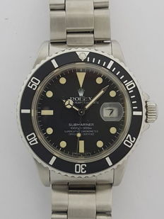 Rolex Submariner-Transitional 16800-TRITIUM - Matte Dial