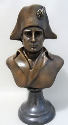 Replica after Antonio Canova (1757-1822) Napoleon Bonaparte - Bronze Bust