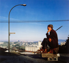 Jeff Wall (1946 -) - 'The Thinker' (Le Penseur) - 1986