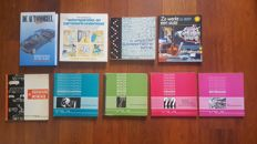 Lot of 9 technical books