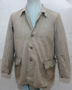 Canvas jacket Felddivision summer blouse uniform / South front drill HBT blouse M41