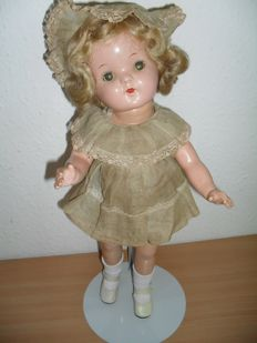 Ideal Shirley Temple Composition Doll (early edition)