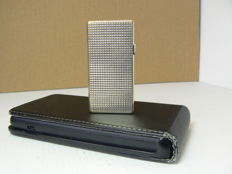 Silver plated Dunhill lighter, 1970