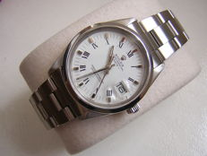 Rolex Oyster Perpetual Watch Quickset date ref 15000 - men's -  circa1990s .