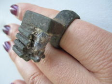 Early European Roman ring d-19 mm