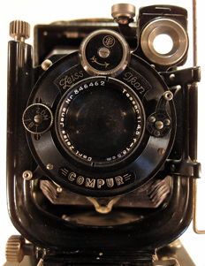 Zeiss Ikon Compur Original Complete With Cases & Extra's