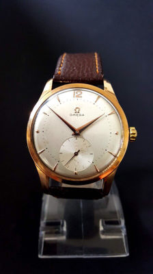 "Omega oversized, 18 karat, ""Jumbo"" calibre 268 – men's watch – around 1961"