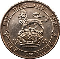 United Kingdom - 1 Shilling 1905 Edward VII - silver