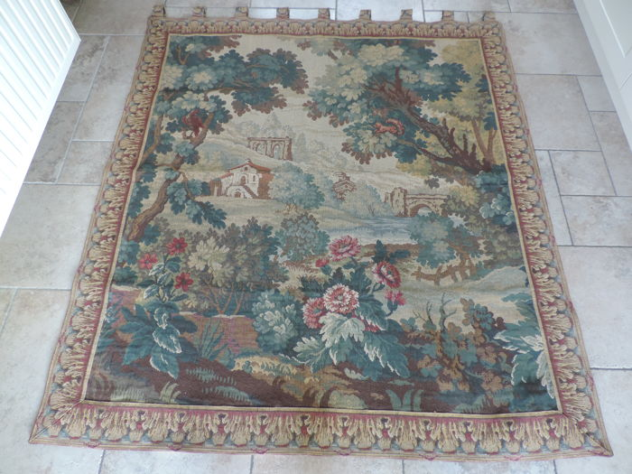 A verdure tapestry after early the 18th century example, first half of 20th century