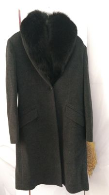 Versus Versace wool coat