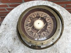 Bergen Nautik copper boat compass