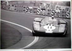 Le Mans 1970 - Ferrari 512S #11 - Bucknum/Possey - 4th Place
