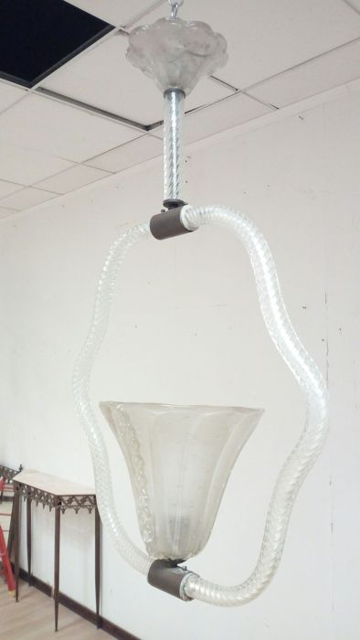 Unknown designer – Murano glass chandelier.