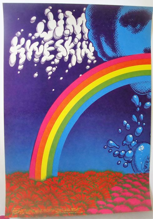 "Jim Kweskin Jug Band Family Dog Poster ""Avalon Splash"" San Francisco Moscoso/Griffin 1967"
