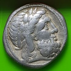 Greek Antiquity – Macedonian kingdom. Philip II, AR Tetradrachm, 359 – 336 BC.