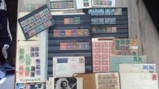 Germany 1850/1966 – Collection of various stamps, cards and sheet parts