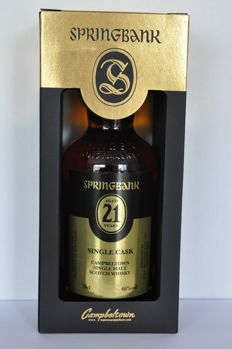 Springbank 21 years old Open Day 2017