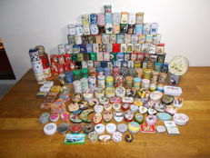 Large batch of 235 small cans, among others