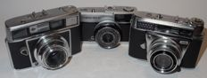 3 collector's cameras - after 1960