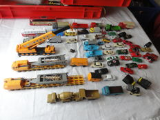 Wiking/and others. H0 - more than 50 vehicles. Trucks, heavy crane & cars