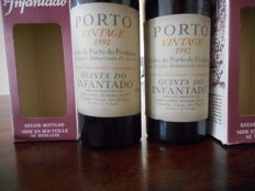 1992 Vintage Port Quinta do Infantado - 2 flessen 75 cl