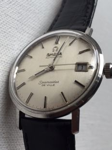 Omega- Seamaster-Deville-Men's-1966-Caliber 562-Ultra Rear