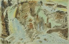 André Masson (after) - Le Torrent