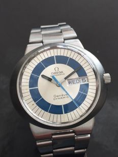 "Omega Genève Dynamic ""Bulls eye"" Automatic Day date - Men's wristwatch"