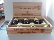 2008 Chateauneuf du Pape - Château Maucoil x 6 bottles in OWB