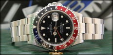 Rolex GMT Master II — Ref.16710 — 2005 — Rare 'Stick Dial' Never Polished
