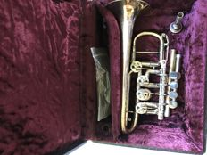 Piccolo Trumpet from the Alfred Eckensberger manufacture in Röhrsdorf, Germany!