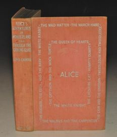 Lewis Carroll - Alice's Adventures in Wonderland and Through the looking glass - 1939