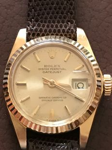 Rolex Oyster Perpetual datejust Ladies 1979