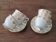 Windsor Bone China - Eight piece tea set from the 1950s