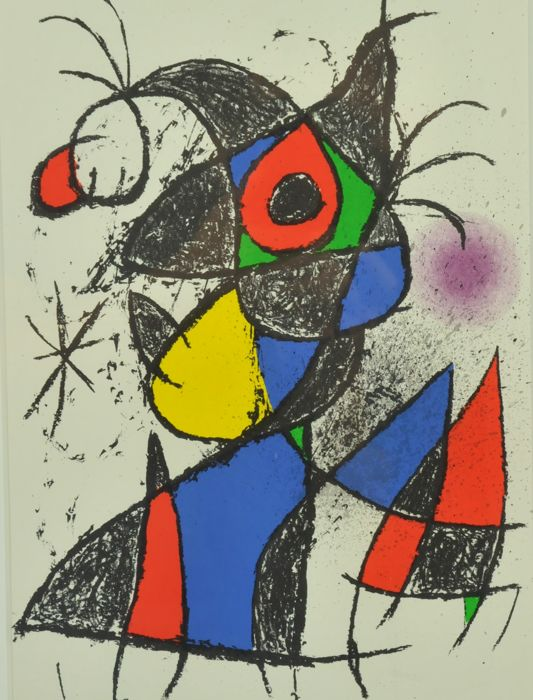 Joan Miró   -  from Peintures, gouaches, dessins