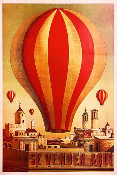 Anonymous - Casa Forés balloons – Late 1930's
